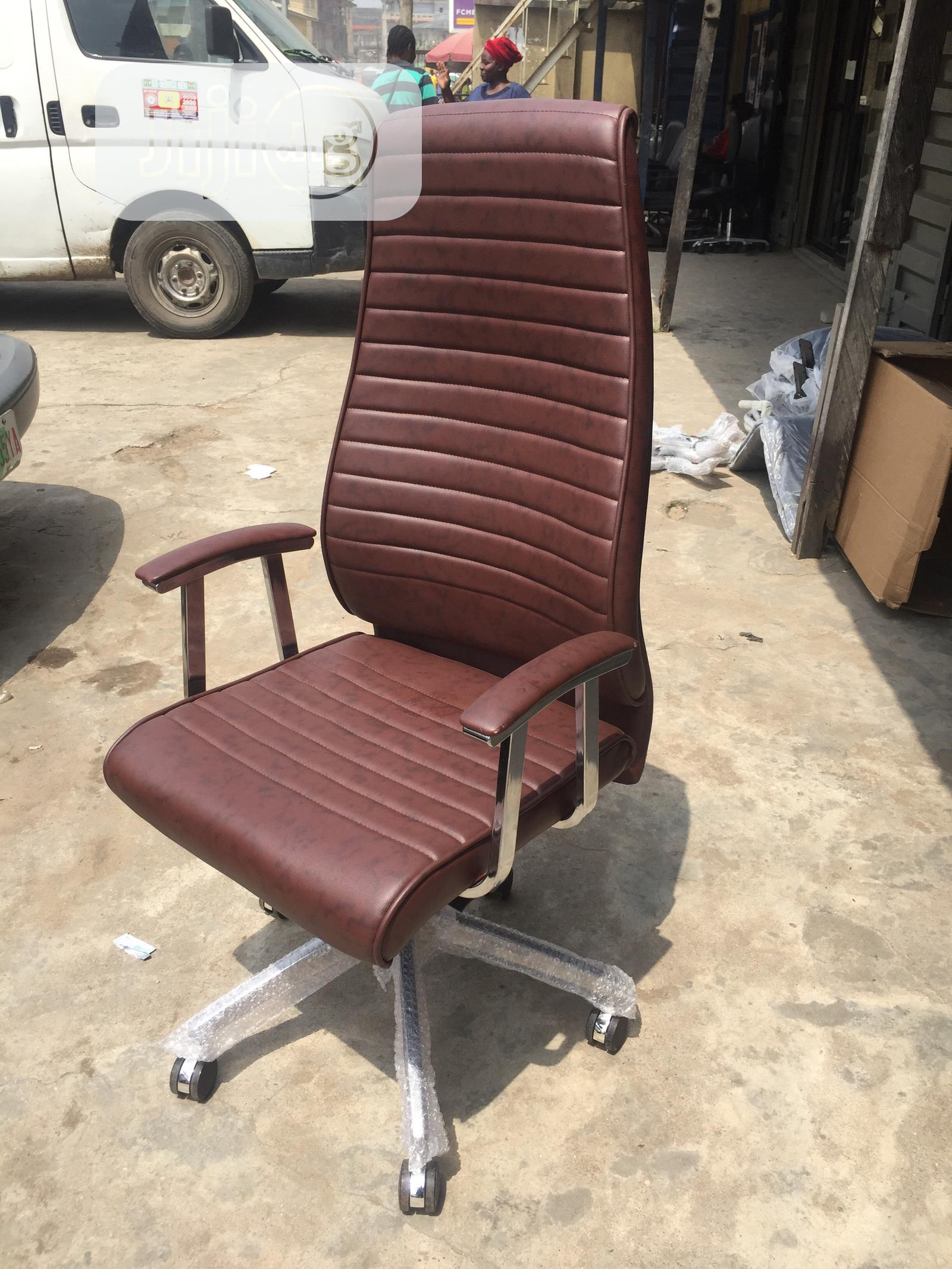 Executive Office Chair (Brown)