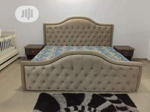 Fabric Upholstery Victorian Design Bed | Furniture for sale in Lagos State, Surulere