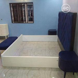Fabric Upholstery High Back Bed. | Furniture for sale in Lagos State, Surulere