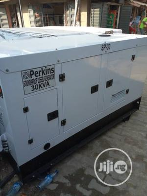 30KVA Perkins Sound Proof Diesel Generator | Electrical Equipment for sale in Lagos State, Amuwo-Odofin