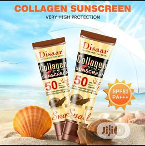 Collagen Sunscreen. | Bath & Body for sale in Lagos State, Ikeja