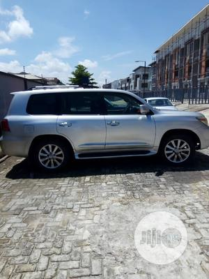 Lexus LX 2008 570 Silver | Cars for sale in Lagos State, Ikeja