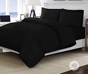 Quality Black Duvet, Bedsheet With 4 Pillow Cases   Home Accessories for sale in Lagos State, Ikeja