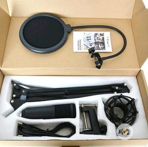 Studio Condenser Microphone With Stand   Audio & Music Equipment for sale in Lagos State, Ojo