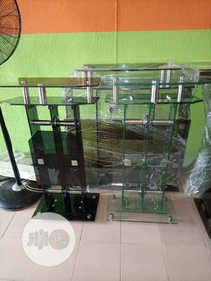 Super Quality Church Glass Pulpit Stand | Furniture for sale in Lagos State, Ajah