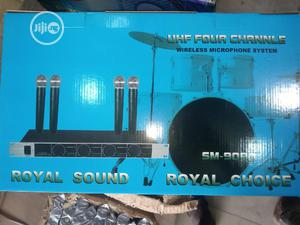 4in1 Sm9090 Wireless Microphone   Audio & Music Equipment for sale in Lagos State, Oshodi
