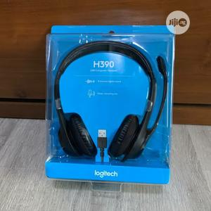 H390 Logitech Headser With Mic And USB Port   Headphones for sale in Lagos State, Ikeja