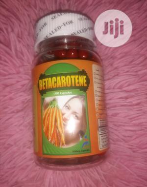 Beta Carotene Capsules, 500mg (100capsules)   Vitamins & Supplements for sale in Lagos State, Mushin