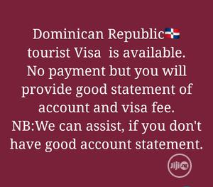 Dominican Republic Visa   Travel Agents & Tours for sale in Lagos State, Surulere