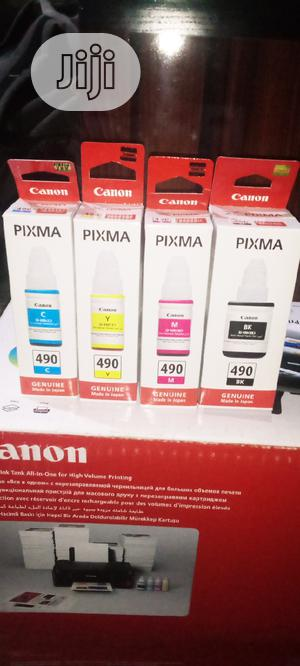 490 Ink Set For Canon G2411 | Accessories & Supplies for Electronics for sale in Lagos State, Ikeja