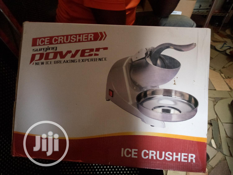 Archive: Brand New Ice Crusher Machine