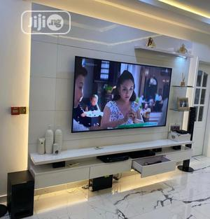 Media Unit Entertainment Wall TV Stand   Furniture for sale in Lagos State, Lekki