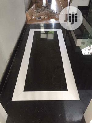 Black Galaxy Design Granite Tiles, Slabs, Marbles Slabs, | Building & Trades Services for sale in Lagos State, Orile