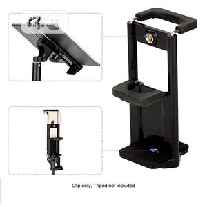 Mobile Phone iPad Tripod Mount. Phone Camera Clip Holder. | Accessories for Mobile Phones & Tablets for sale in Lagos State, Ikeja