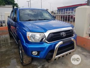 Toyota Tacoma 2012 Access Cab V6 Automatic Blue | Cars for sale in Lagos State, Ikeja
