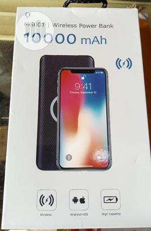 10000 Mah Wireless Power Bank | Accessories for Mobile Phones & Tablets for sale in Lagos State, Ikeja