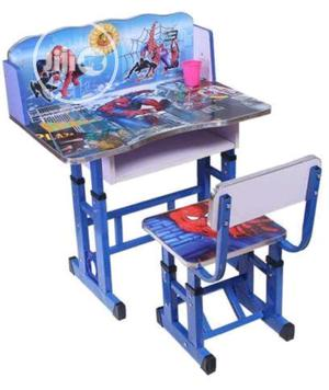 Universal Spiderman Children's Study Table And Chair Set - B | Children's Furniture for sale in Lagos State, Amuwo-Odofin