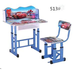 2in1 Kids Study Table And Chair Set ( CAR ) | Children's Furniture for sale in Lagos State, Lagos Island (Eko)