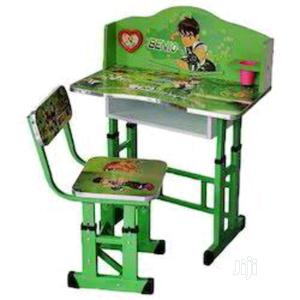 1 Green Kids Study Desk With Chair | Children's Furniture for sale in Lagos State, Lagos Island (Eko)
