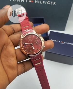 Top Quality Tommy Hilfiger Rubber Strap Watch | Watches for sale in Lagos State, Magodo
