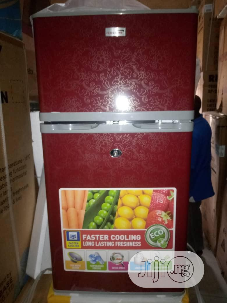 Archive: Freezclime Refrigerator Table Top Doible Door Model:138