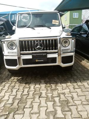 Mercedes-Benz G-Class 2015 White   Cars for sale in Lagos State, Ikeja
