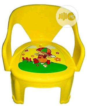 Multipurpose Small Chair For Kids Baby Yel | Children's Furniture for sale in Lagos State, Lagos Island (Eko)