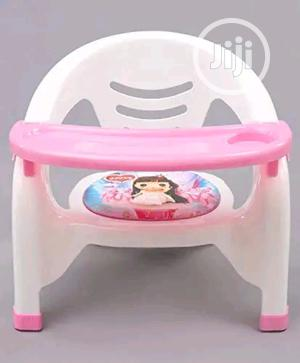 Baby Chair With Safty Tray, Plastic Baby Standing Chai | Children's Furniture for sale in Lagos State, Lagos Island (Eko)