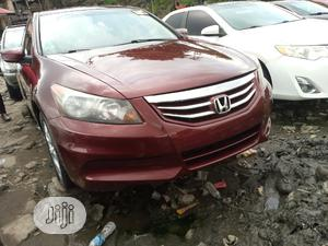 Honda Accord 2010 Coupe EX-L V-6 Automatic Red | Cars for sale in Lagos State, Apapa