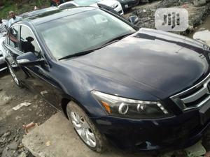 Honda Accord 2010 Coupe EX-L V-6 Automatic Blue | Cars for sale in Lagos State, Apapa
