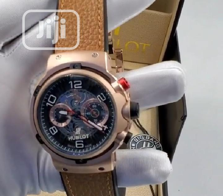 Top Quality Hublot Leather Watch