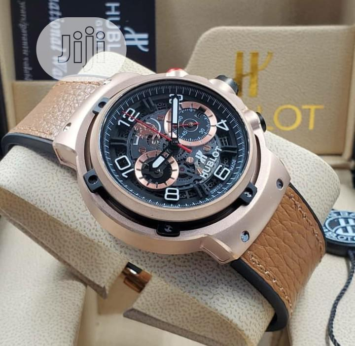 Top Quality Hublot Leather Watch | Watches for sale in Magodo, Lagos State, Nigeria