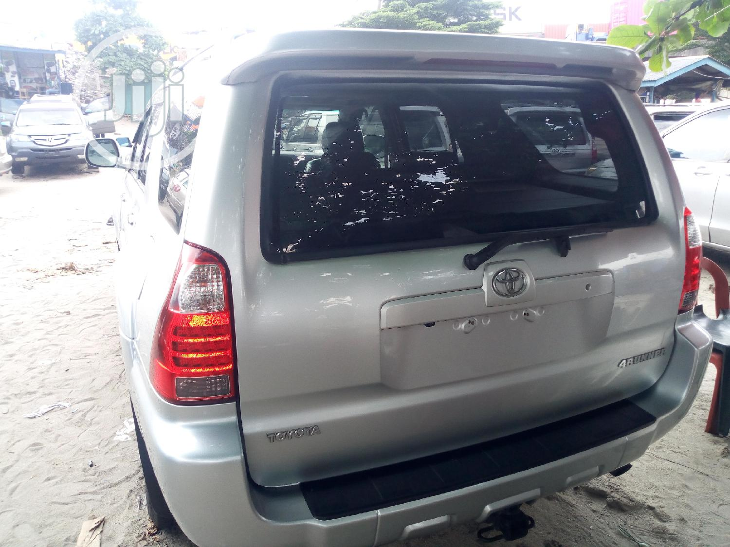 Toyota 4-Runner 2007 Limited 4x4 V6 Silver   Cars for sale in Amuwo-Odofin, Lagos State, Nigeria