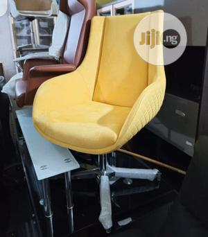 Yellow Adjustable Lounge Chair   Furniture for sale in Lagos State, Ikeja