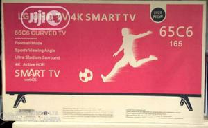 Original 65inches LG Smart Curved Television | TV & DVD Equipment for sale in Lagos State, Magodo