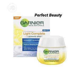 Garnier White Speed Yoghurt Sleeping Mask 50ml | Skin Care for sale in Lagos State, Ikeja
