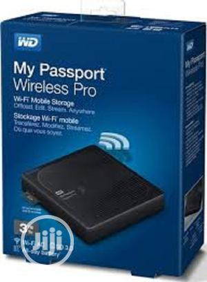 WD My Passport Wireless 3TH Portable External Hard Drive   Computer Hardware for sale in Lagos State, Ikeja