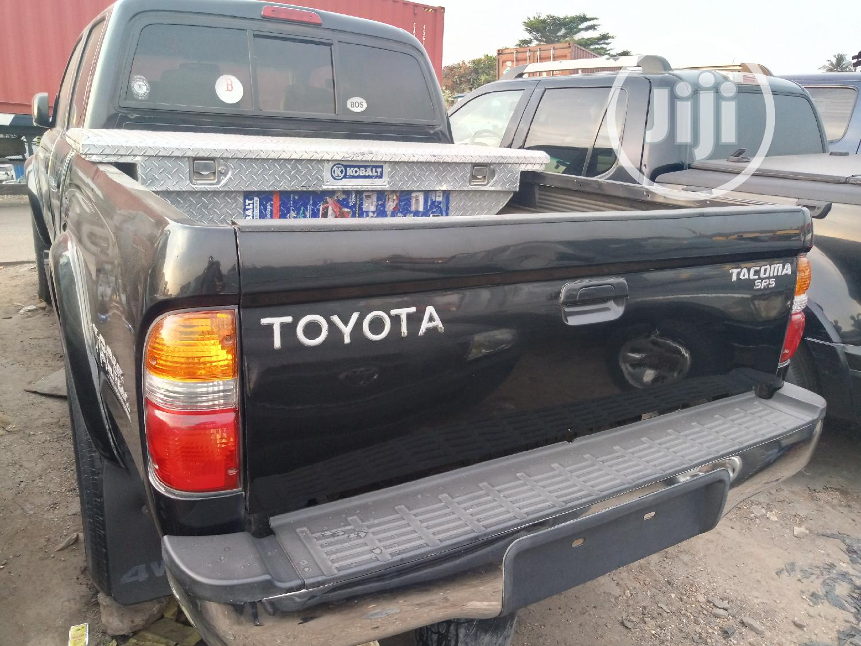 Toyota Tacoma 2002 Black   Cars for sale in Apapa, Lagos State, Nigeria
