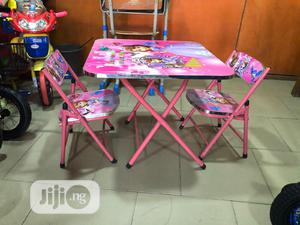 Table With Double Chair Age 1-4   Children's Furniture for sale in Lagos State, Amuwo-Odofin