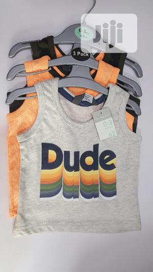 3pcs Summer Casual Singlet   Children's Clothing for sale in Lagos State, Ojodu