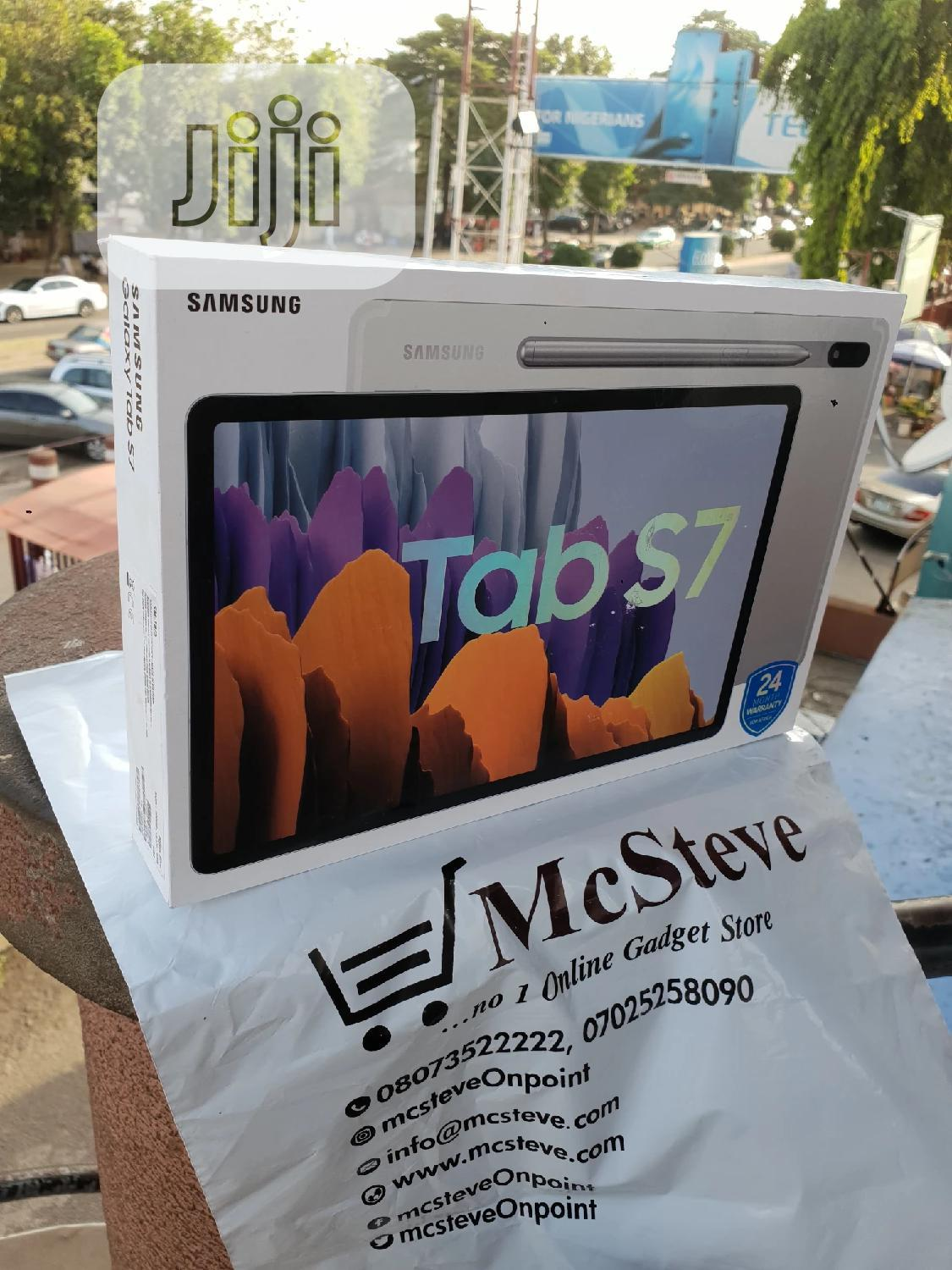 New Samsung Galaxy Tab S7 128 GB Black | Tablets for sale in Wuse 2, Abuja (FCT) State, Nigeria