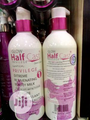 Glow Half Cast Previlege. Extreme Reguvenating Beauty Milk | Skin Care for sale in Lagos State, Amuwo-Odofin