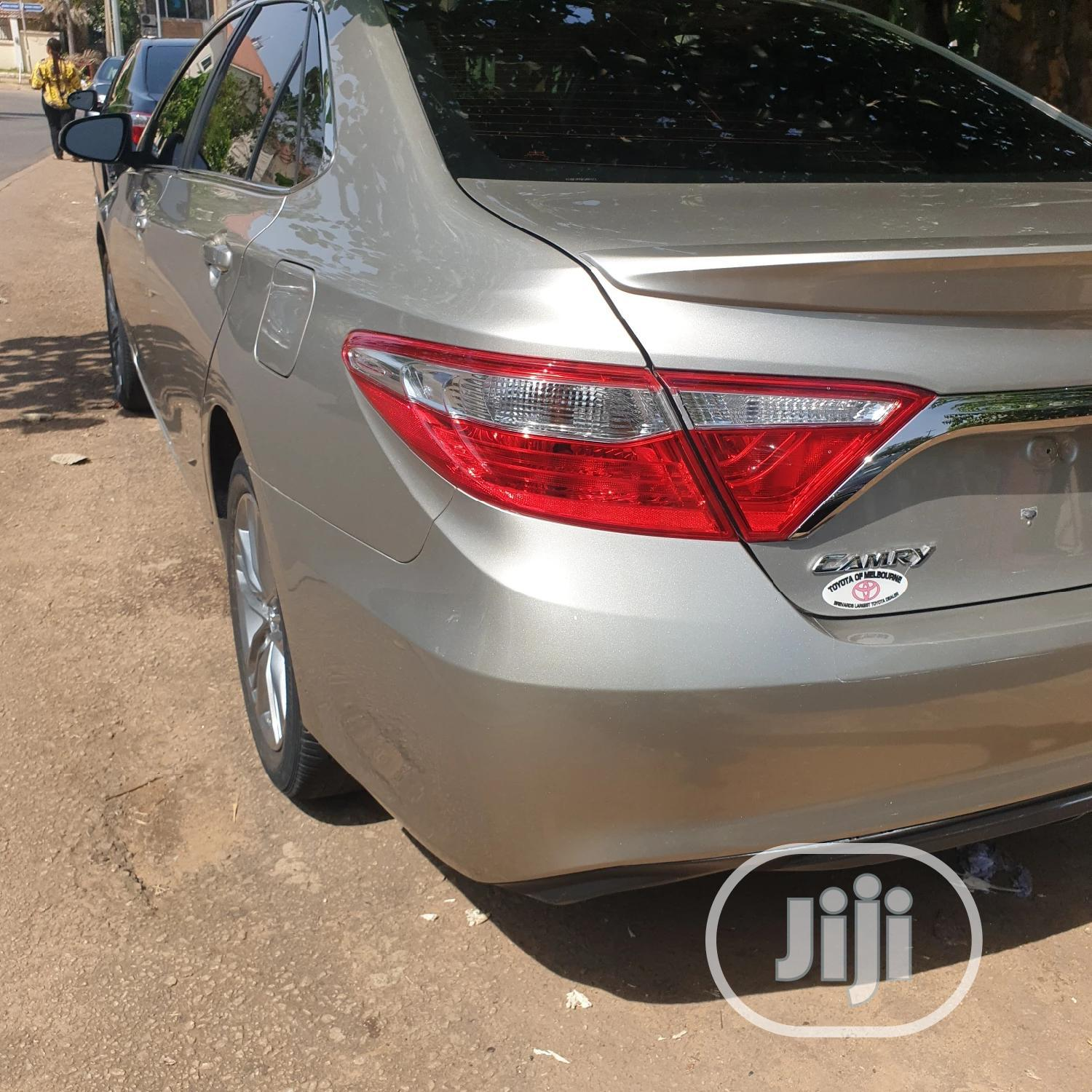 Toyota Camry 2015 Gold | Cars for sale in Garki 1, Abuja (FCT) State, Nigeria
