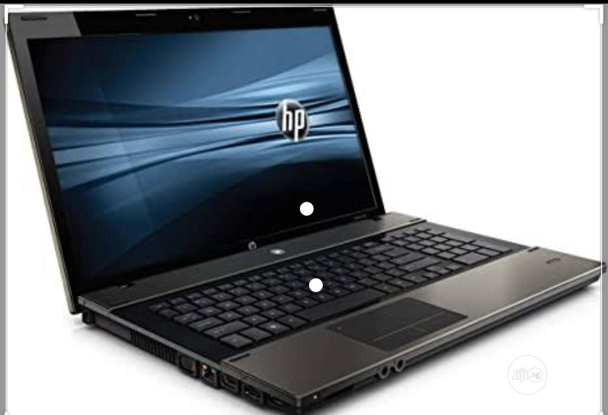 Laptop HP ProBook 4720S 4GB Intel Core I5 HDD 500GB   Laptops & Computers for sale in Ikeja, Lagos State, Nigeria