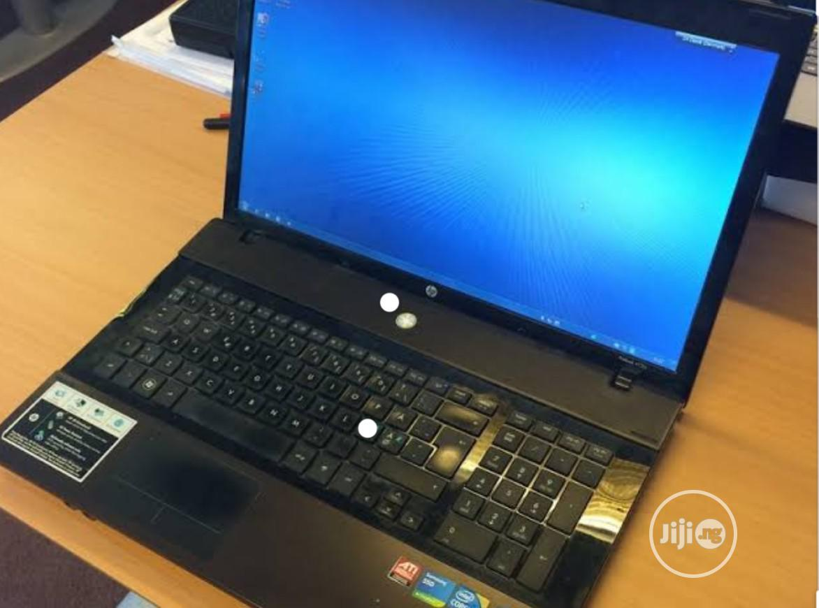 Laptop HP ProBook 4720S 4GB Intel Core I5 HDD 500GB