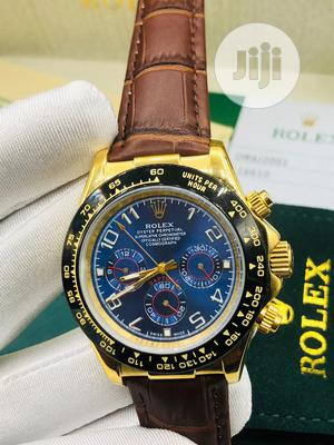 Top Quality Rolex Leather Watch | Watches for sale in Lagos State, Magodo