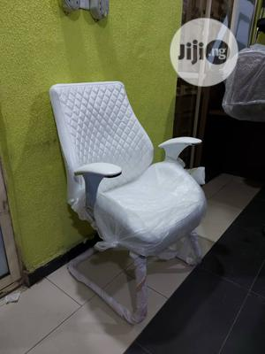 Executive White Visitors Chair   Furniture for sale in Lagos State, Ojo
