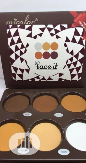 Micolor Face It Mini Powder Pallet   Makeup for sale in Lagos State, Ojo