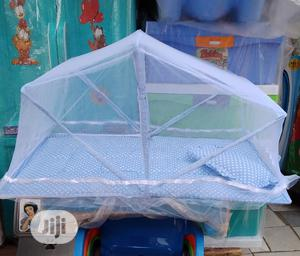 Foldable Baby Bed With Mosquito Net | Children's Furniture for sale in Lagos State, Ipaja