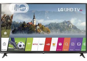"""LG 55"""" 4K Ultra HD LED Smart TV (Black)   TV & DVD Equipment for sale in Lagos State, Ikeja"""